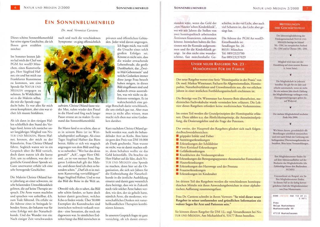 Natur und Medizin 2/2000